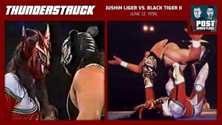 Thunderstruck #18: Jushin Liger vs. Black Tiger II [Eddie Guerrero] (6/12/96) w/ Mike Murray
