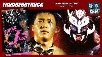 Thunderstruck #19: Jushin Liger vs. CIMA (4/9/00) w/ Mike Spears