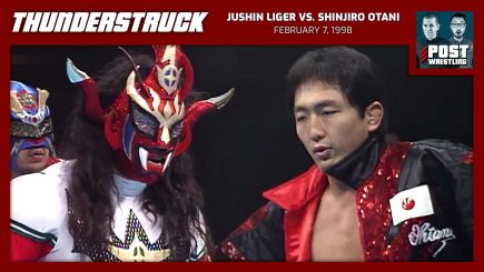 Thunderstruck #21: Jushin Liger vs. Shinjiro Otani (2/7/98) w/ JoJo Remy