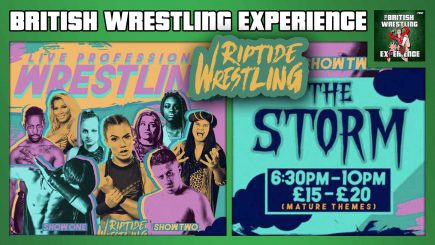 "British Wrestling Experience 5/1/20: Riptide Wrestling ""The Storm"""