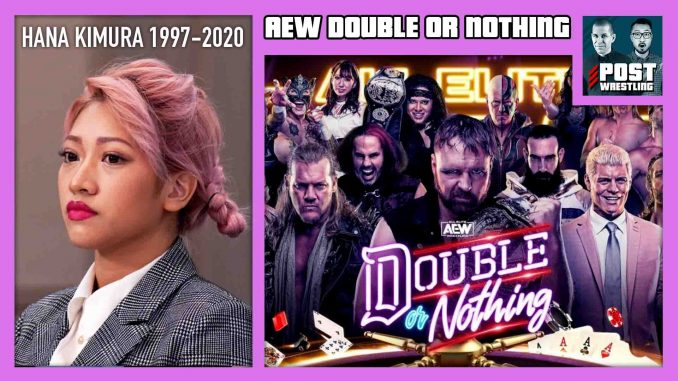 AEW Double or Nothing 2020 POST Show, Hana Kimura w/ WH Park