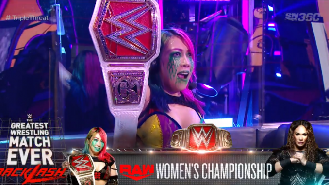 Raw women's title match set for WWE Backlash