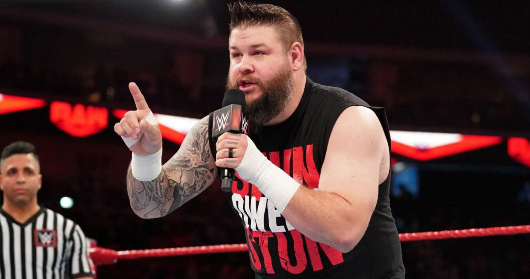 Kevin Owens confirms he is dealing with an ankle injury