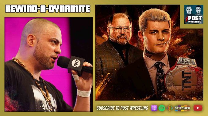 John Pollock and Wai Ting discuss AEW Dynamite featuring Chris Jericho & Jake Hager vs. Jurassic Express, Eddie Kingston answers Cody's open challenge, Stephanie McMahon does a big interview and Raw has another bad number.