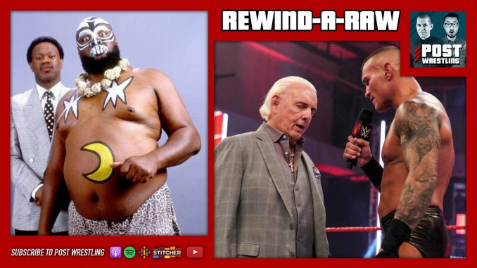 Rewind-A-Raw 8/10/20: Kamala Passes Away, Flair Punted, G1 Schedule
