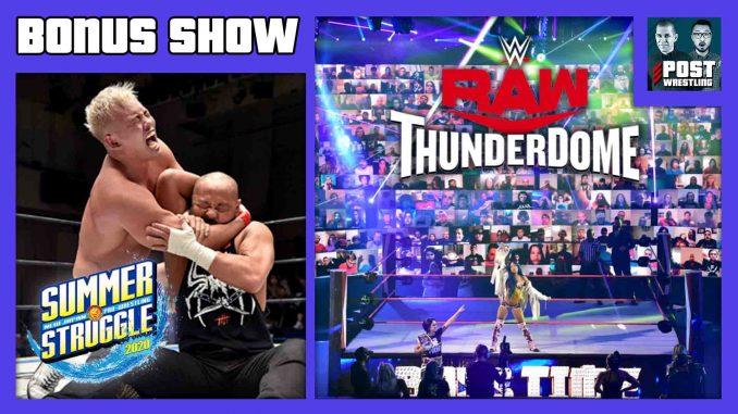 BONUS SHOW 8/26/20: Raw & AEW Ratings, ThunderDome Problems, New Japan