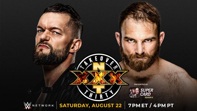 Finn Balor vs. Timothy Thatcher has been officially added to Saturday's NXT TakeOver: XXX card. Thatcher cost Balor his second-chance opportunity to qualify for the North American title ladder match on Wednesday's edition of WWE NXT.