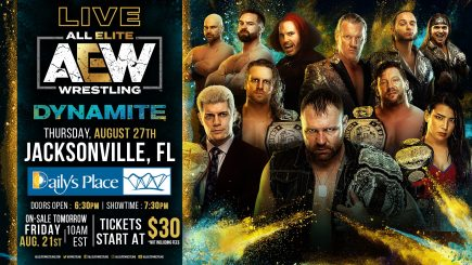 POST NEWS UPDATE: AEW opens doors for limited crowds, NXT to be preempted on 9/2
