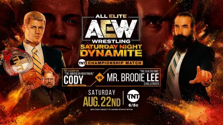 AEW Dynamite notes: New Champion, Women's Tag Team Cup Final