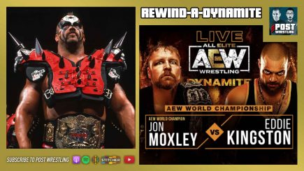 Rewind-A-Dynamite 9/23/20: Moxley-Kingston, Joe Laurinaitis, COVID-19