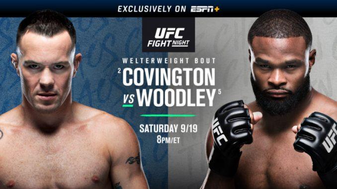 UFC FIGHT NIGHT: Colby Covington dominates Tyron Woodley