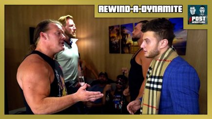 Rewind-A-Dynamite 9/30/20: Moxley defends, Jericho-MJF, Raw Ratings, NXT Call