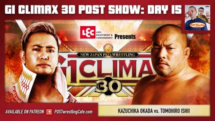 John Pollock and Wai Ting review NJPW G1 Climax 30 Day 15 (October 13) headlined by Kazuchika Okada vs. Tomohiro Ishii.