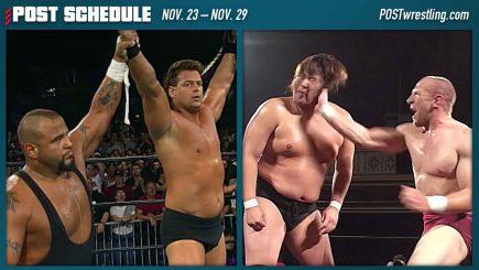 POST SCHEDULE: ECW Anarchy Rulz 1999, ROH Manhattan Mayhem II