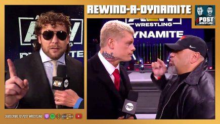 Rewind-A-Dynamite 11/25/20: Mox attacks Omega, Taz chokes Cody