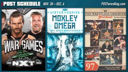 POST SCHEDULE: Pollock returns, Mox vs. Omega, WarGames, Dave Meltzer