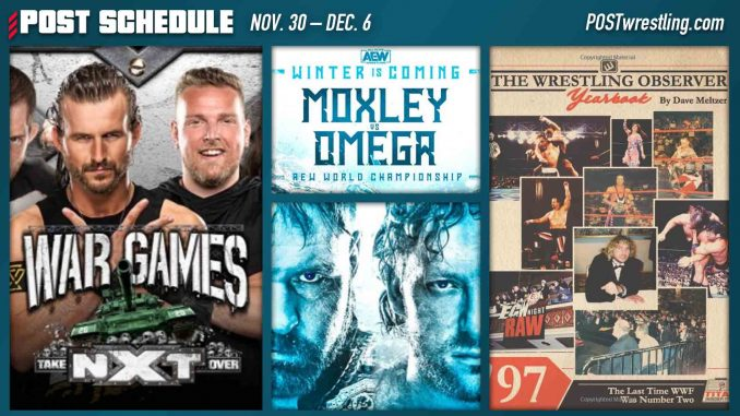 POST SCHEDULE: Pollock returns, Mox vs. Omega, WarGames, Dave Meltzer