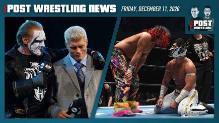 AEW Ratings, BOSJ-WTL Winners, ROH Update | POST News 12/11