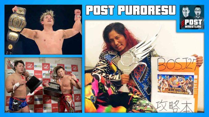 POST PURORESU: BOSJ-WTL, Super J-Cup, RWTL, Shiozaki vs. Sugiura