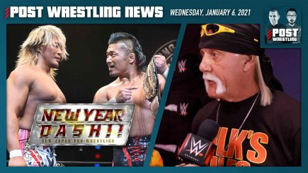 John Pollock and Wai Ting discuss highlights and results from NJPW New Year Dash!! 2021 and Monday's ratings from WWE Raw Legends Night.