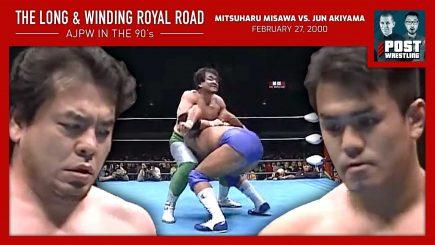 L&WRR #7: Mitsuharu Misawa vs. Jun Akiyama (2/27/00) w/ Ed Kody