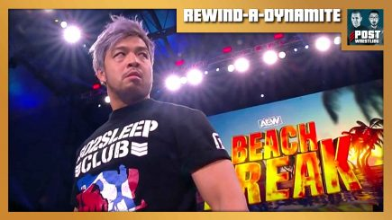 REWIND-A-DYNAMITE 2/3/21: KENTA appears, Beach Break