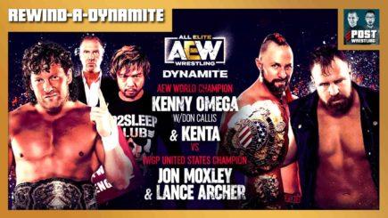REWIND-A-DYNAMITE 2/10/21: KENTA & Omega vs. Mox & Archer