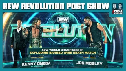 AEW Revolution 2021 POST Show: Exploding Barbed Wire Death Match