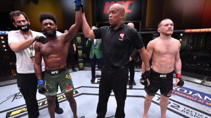 UFC 259 Report: Aljamain Sterling wins UFC Bantamweight Championship by DQ