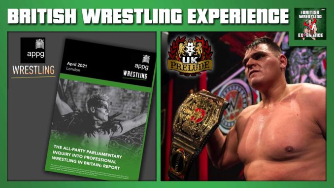 BWE: APPG Report on BritWres, WALTER, Will Ospreay wins IWGP title