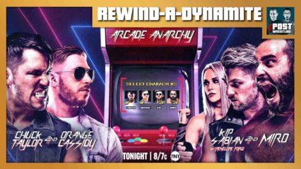 REWIND-A-DYNAMITE 3/31/21: Arcade Anarchy, Christian's first AEW match
