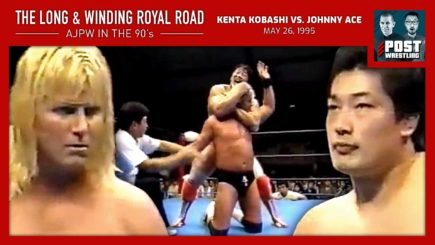 L&WRR #10: Kenta Kobashi vs. Johnny Ace (5/26/95) w/ Stephanie Chase