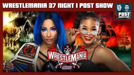 WrestleMania 37 Night 1 POST Show: Sasha Banks vs. Bianca Belair