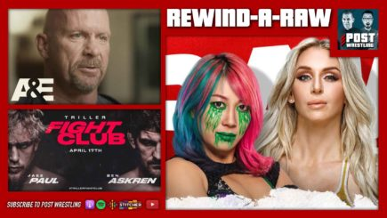 REWIND-A-RAW 4/19/21: WWE Raw, Triller, Stone Cold A&E Biography
