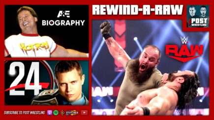 REWIND-A-RAW 4/26/21: WWE Raw, Roddy Piper & Miz doc reviews