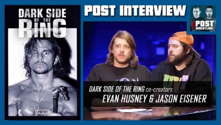 POST INTERVIEW: Dark Side of the Ring's Evan Husney & Jason Eisener