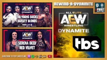 REWIND-A-DYNAMITE 5/19/21: AEW to TBS, WWE cuts