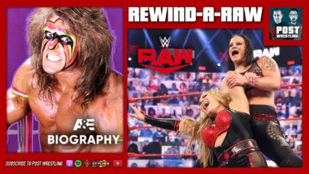 REWIND-A-RAW 5/24/21: WWE Raw, Ultimate Warrior A&E