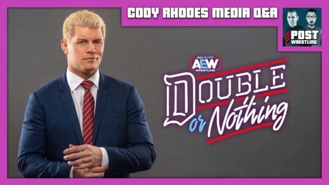 Cody Rhodes AEW Double or Nothing Media Q&A