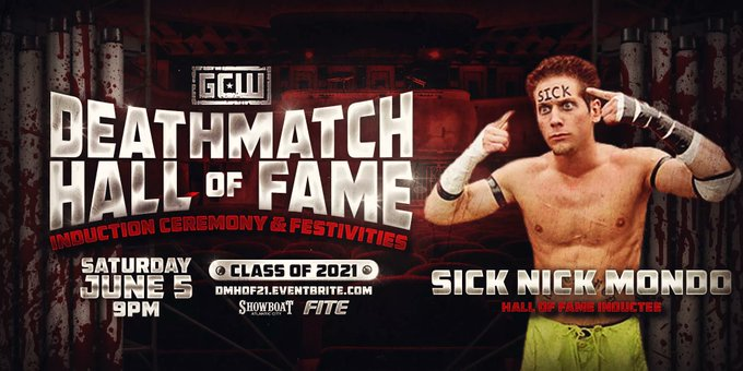 Watch GCW Deathmatch Hall of Fame 2021 6/5/21