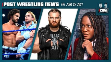 POST News 6/25/21: WWE Releases, Kenice Mobley, MSG