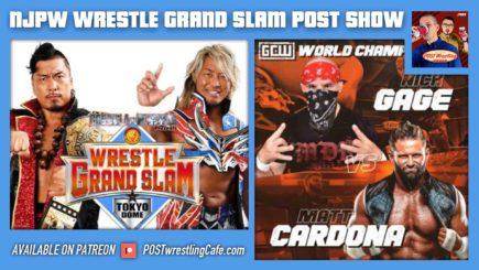 NJPW Wrestle Grand Slam POST Show / GCW: Nick Gage vs. Matt Cardona