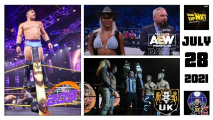 SITD 7/28/21: Johnson earns TNT Title Match, NXT UK Tag Team Title Match