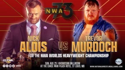 NWA 73 Report: Nick Aldis vs. Trevor Murdoch, Ric Flair speaks