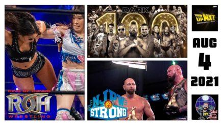 SITD 8/4/2021: 100th Episode of AEW Dark, NJPW Tag Team Turbulence Final