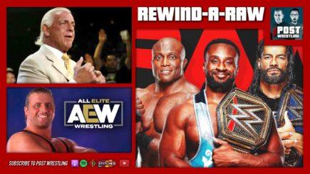 REWIND-A-RAW 9/20/21: Triple Threat, Flair responds, Owen Hart-AEW