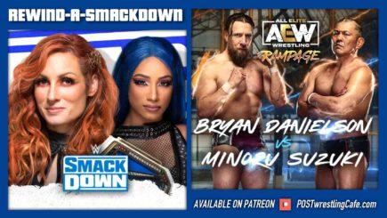 RASD 10/15/21: WWE Supersized SmackDown vs. AEW Rampage