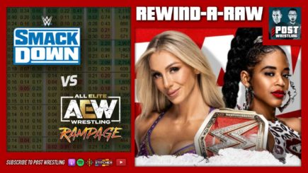 John Pollock & Wai Ting are back to chat about the final WWE Raw before Crown Jewel and the results of the SmackDown vs. Rampage Friday night ratings fight.