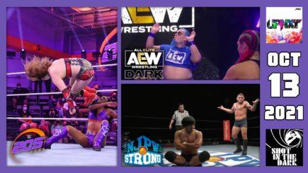 SITD 10/13/21: Suzuki Debuts on NJPW Strong, Crowbar/Blue Meanie-AEW Dark